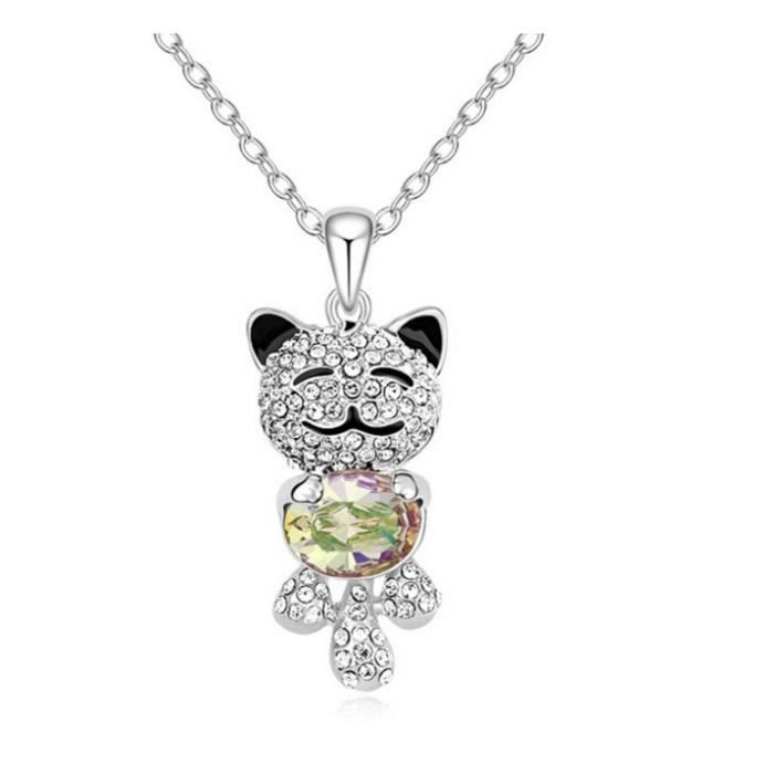 Collier Cristal - Ours dange.