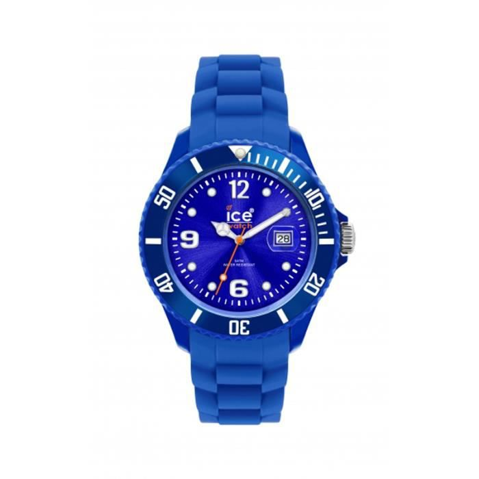 Montre ICE WATCH Small Bleue Bleu, - Achat vente montre - Soldes ... 9fd6ac080aee