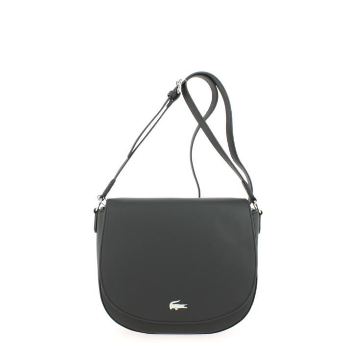 84bdbe8853 Sac Lacoste Daily Classic Round Crossover Noir - Achat / Vente ...
