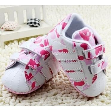 Baby Girls Soft Sole Shoes Baby Sport Shoes Sneakers Newborn Infants Toddler Shoes First Walkers
