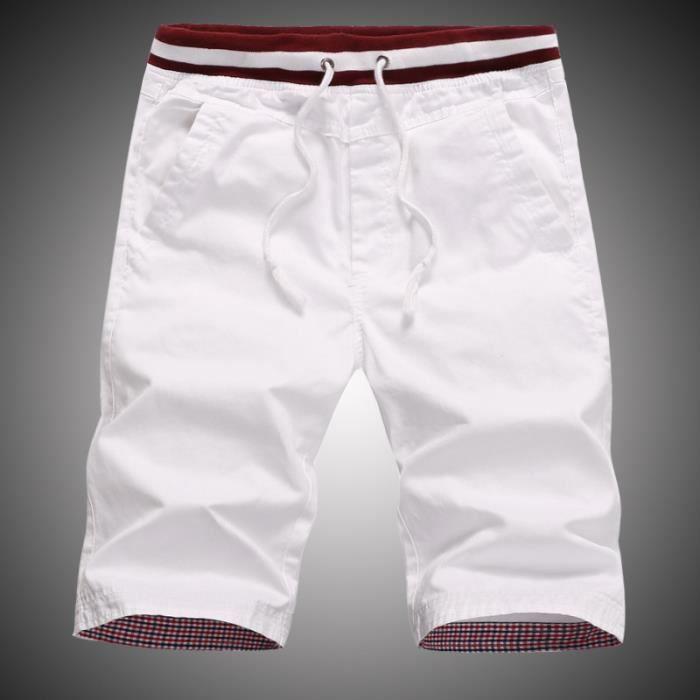 Vêtement homme,Short homme en coton pour