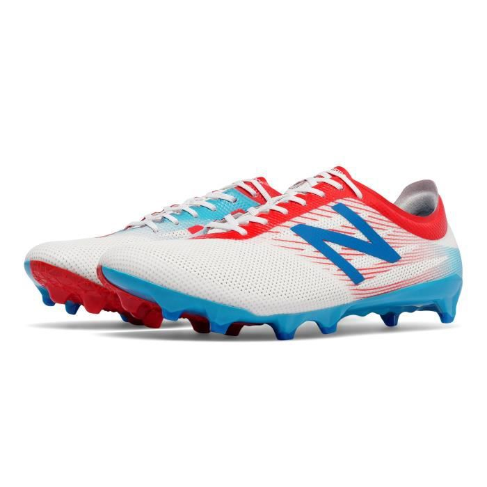 afff180c3ab3 Chaussures football New Balance Furon 2.0 Pro FG Bleu/Blanc/Rouge ...