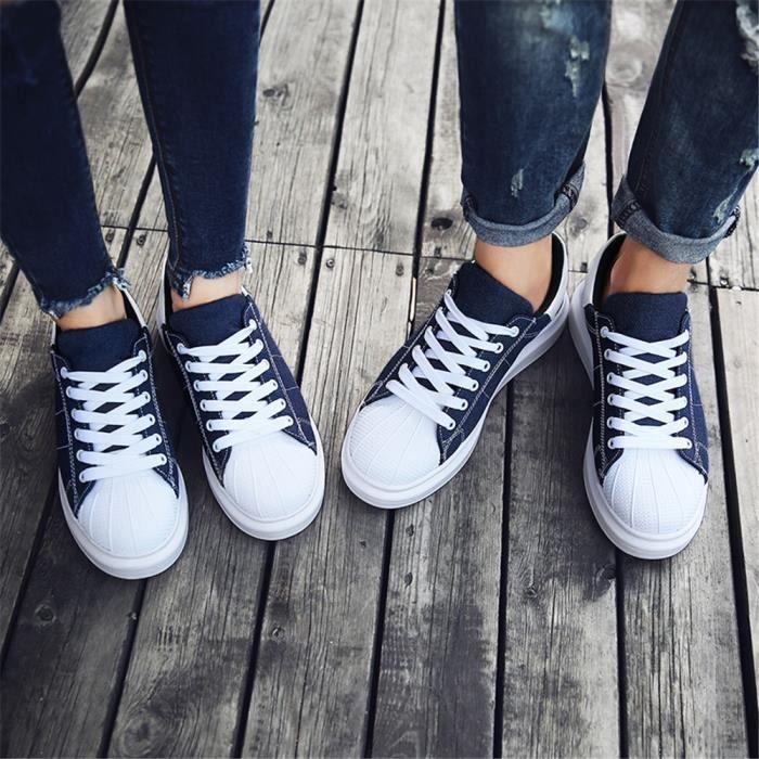 Taille Bleu Moccasins Chaussures Respirant Confortable Espadrille noir Lger1 Cool Femme De Sneakers beige Plus Grande Couleur rouge Slip on wHqZp