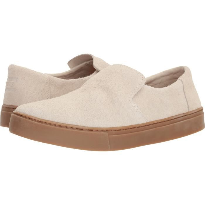 Chaussure Slip Bouleau Shaggy Toms Uvtl5 Homme J Taille M On 7 Lomas Daim 5 Gomme fg7b6y