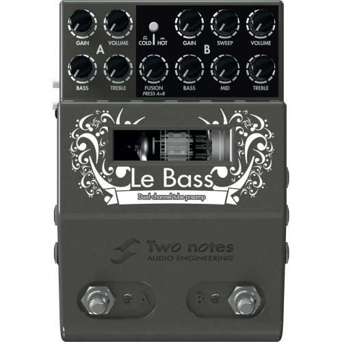 Two Notes Lebass Preampli Guitare A Lampes Pas Cher Achat