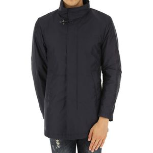 f40ddac584966 ... Imperméable - Trench FAY HOMME NAM62370750AXXU808 BLEU POLYESTER TRENCH  ...