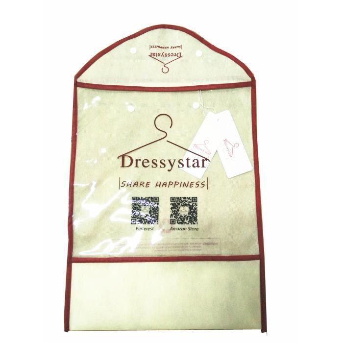 Jupe Rétro Maxi Longue Loose en Mousseline Elasticité Couche Double 2 en 2 Taille Elastique Casual pour Femmes Dressystar