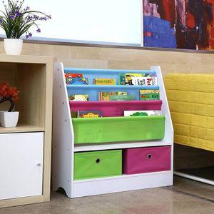 etagere rangement livre enfant achat vente pas cher. Black Bedroom Furniture Sets. Home Design Ideas