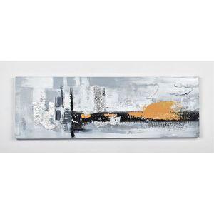 TABLEAU - TOILE Tableau déco Abstrait  1 -  Toile peinte à la main