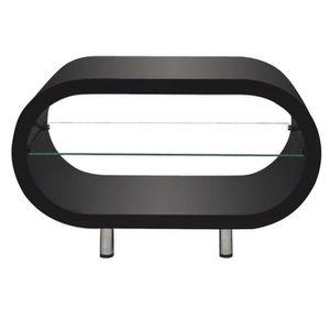 TABLE BASSE Tables basses Couleur : Noir avec une finition hau