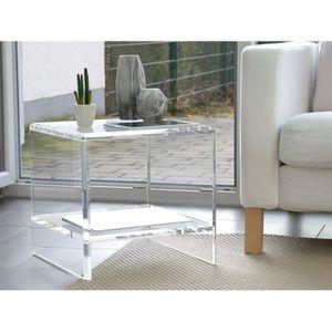 table plexiglas achat vente pas cher. Black Bedroom Furniture Sets. Home Design Ideas
