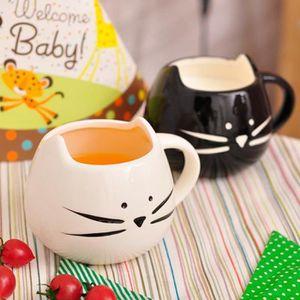 SERVICE À THÉ - CAFÉ Panlom®2Pcs Mug Tasse à Café Thé Lait sous Forme C