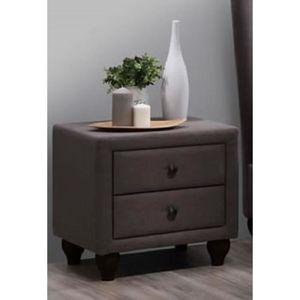 table de chevet tissu achat vente table de chevet. Black Bedroom Furniture Sets. Home Design Ideas