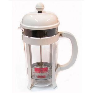 CAFETIÈRE Bodum - cafetière à piston 8 tasses 1l blanche - 1