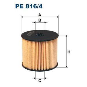 FILTRE A CARBURANT FILTRON Filtre à carburant PE816/4
