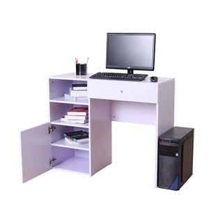 meuble d 39 ordinateur bureau informatique avec rangement achat vente meuble d 39 ordinateur. Black Bedroom Furniture Sets. Home Design Ideas