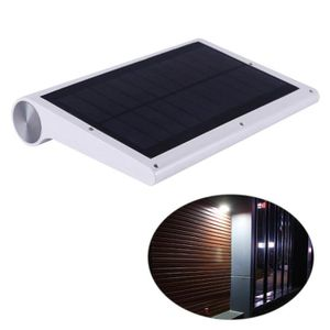 APPLIQUE EXTÉRIEURE Applique solaire extérieure de 42 LED induction de