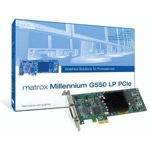 CARTE GRAPHIQUE INTERNE MILLENNIUM G550 LP PCIE MATROX G55-MDDE32LPDF