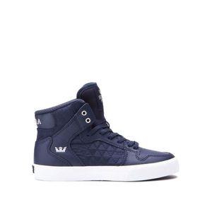 BASKET Chaussures SUPRA KIDS VAIDER midnight white