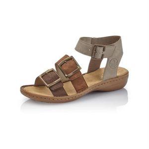 f08f5b94d033 SANDALE - NU-PIEDS sandales   nu-pieds 608c3 femme rieker 608c3