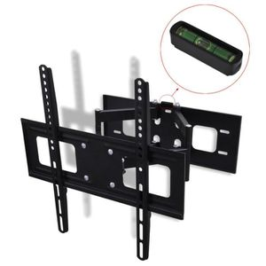 FIXATION - SUPPORT TV Support Mural TV Double Bras Orientable et Inclina