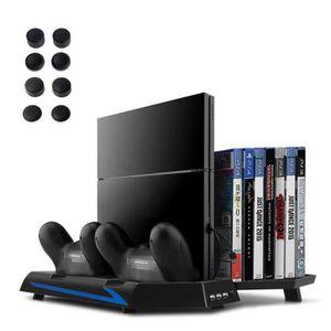 HUB CONSOLE PS4 Ventilateur Support Vertical avec Double Entré