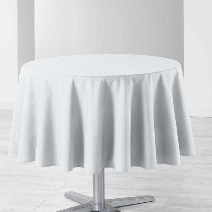 Nappe ronde blanche achat vente pas cher - Nappe de table rectangulaire pas cher ...