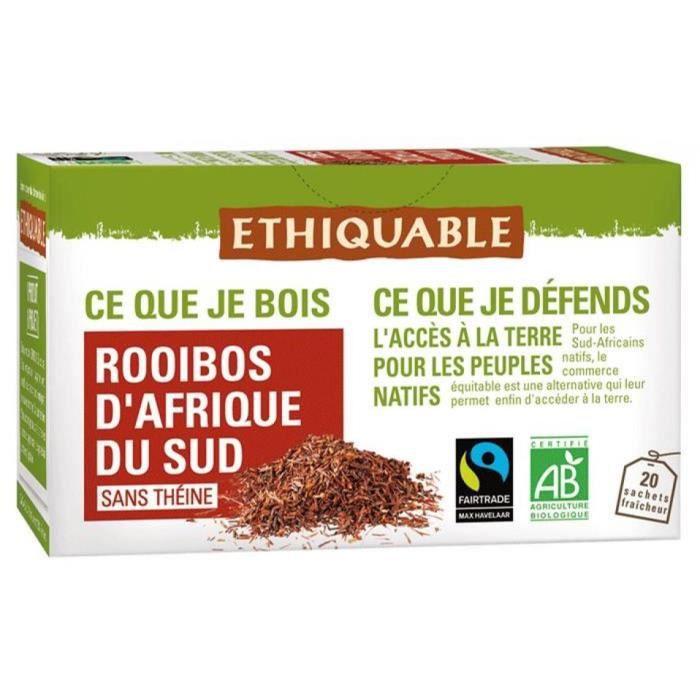 THÉ Thé rouge rooibos bio - 40g
