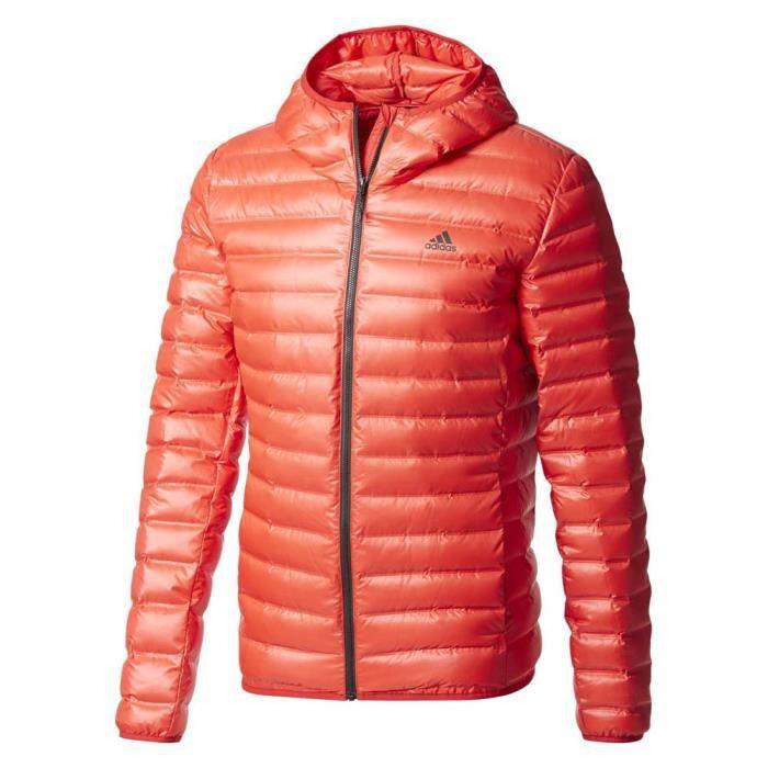 Vêtements homme Vestes Adidas Varilite Hooded Orange Orange - Achat ... c78fcd2769f
