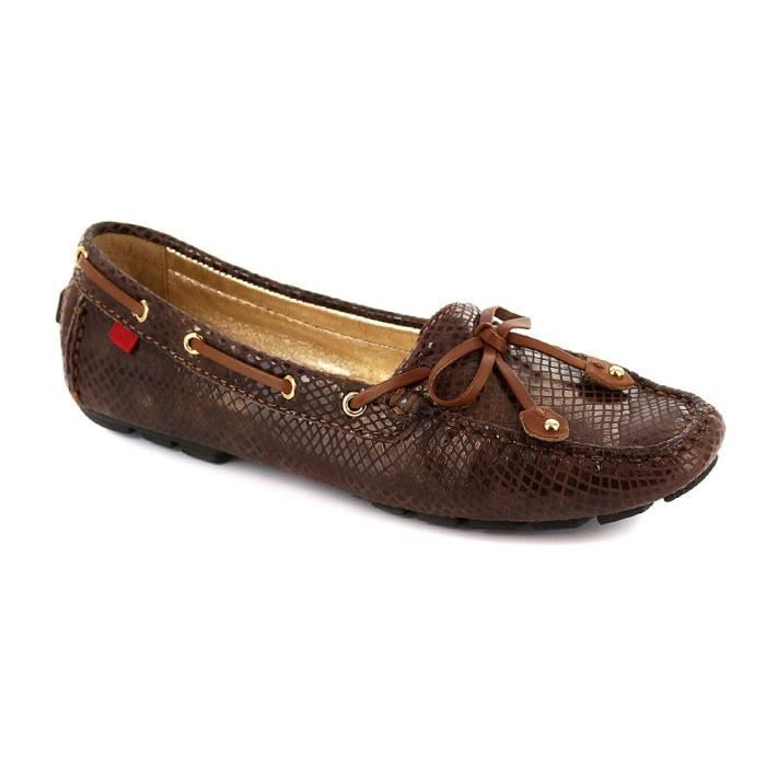 Womens Genuine Leather Made In Brazil Casual Cypress Hill Driver Marc Joseph EUFBW Taille-41 1-2