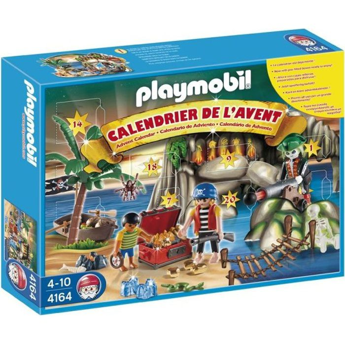 playmobil calendrier de l 39 avent tr sor des pirate achat vente univers miniature cdiscount. Black Bedroom Furniture Sets. Home Design Ideas