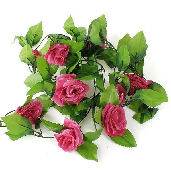 Fleurs artificielles lierre deco mariage achat vente for Soldes fleurs artificielles