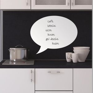 tableau ardoise cuisine achat vente tableau ardoise cuisine pas cher cdiscount. Black Bedroom Furniture Sets. Home Design Ideas
