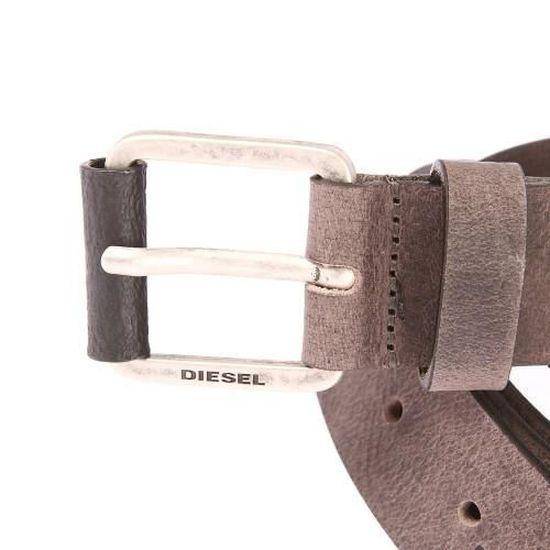 30d3e49bb52e Diesel - accessoires de mode Marron Marron - Achat   Vente ceinture et  boucle - Cdiscount