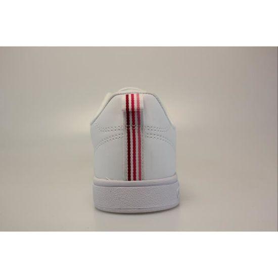 2cdb3b3894e Adidas Performance VS Advantage Clean W B74574 Blanc Blanc / rose ...