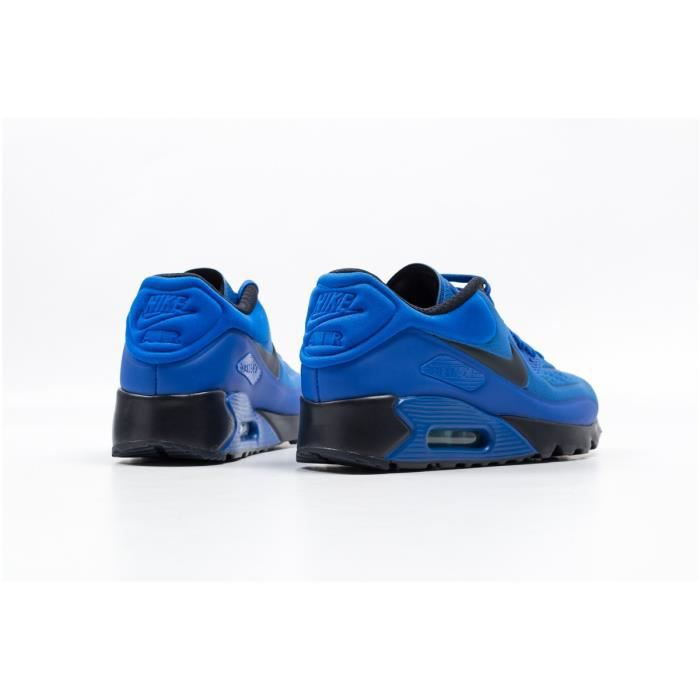 Baskets Nike Air Max 90 Ultra SE, Modèle 845039 401 Bleu.