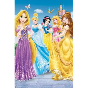 AFFICHE - POSTER Poster Princesses Disney - Princess, Once Upon A T