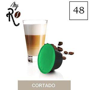 CAFÉ 48 Capsules  de Soluble Cortado compatibles avec m