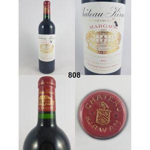VIN ROUGE Château Kirwan 2001 - N° : 808, Margaux, Rouge