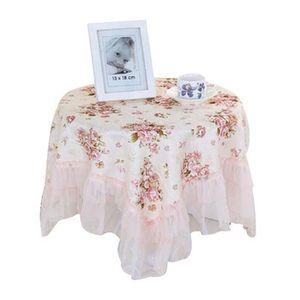 NAPPE DE TABLE Élégant fleurs motif nappe - tissu décoratif en de