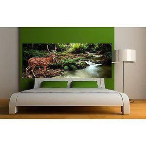 tableau tete de cerf achat vente tableau tete de cerf pas cher soldes d s le 10 janvier. Black Bedroom Furniture Sets. Home Design Ideas