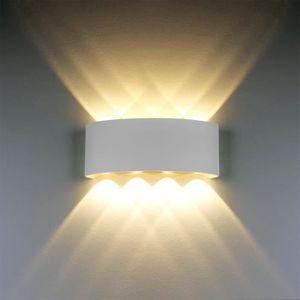 APPLIQUE  100 Lampe Murale LED 8W Blanc Moderne Aluminium LE