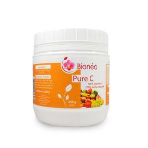TONUS - VITALITÉ Vitamine C naturelle Poudre, pot 250 g, Bioneo