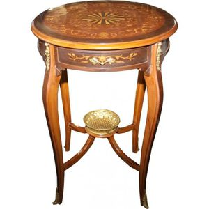 TABLE D'APPOINT Casa Padrino luxe table d'appoint baroque incrusté