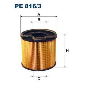 FILTRE A CARBURANT FILTRON Filtre à carburant PE816/3