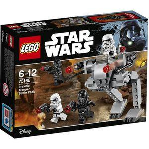 ASSEMBLAGE CONSTRUCTION LEGO® Star Wars 75165 Pack de Combat des Soldats d