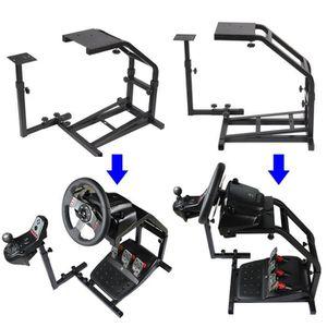 JOYSTICK - MANETTE LESHP® Racing Volant Stand Support de Volant de Co
