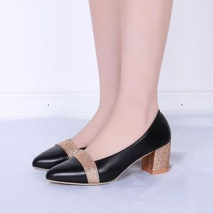 Sandales pour Femmes Élégants Hauts Talons Hauts Pointus Chaussures Habillées Vêtements de Tous Les Jours,Black-34