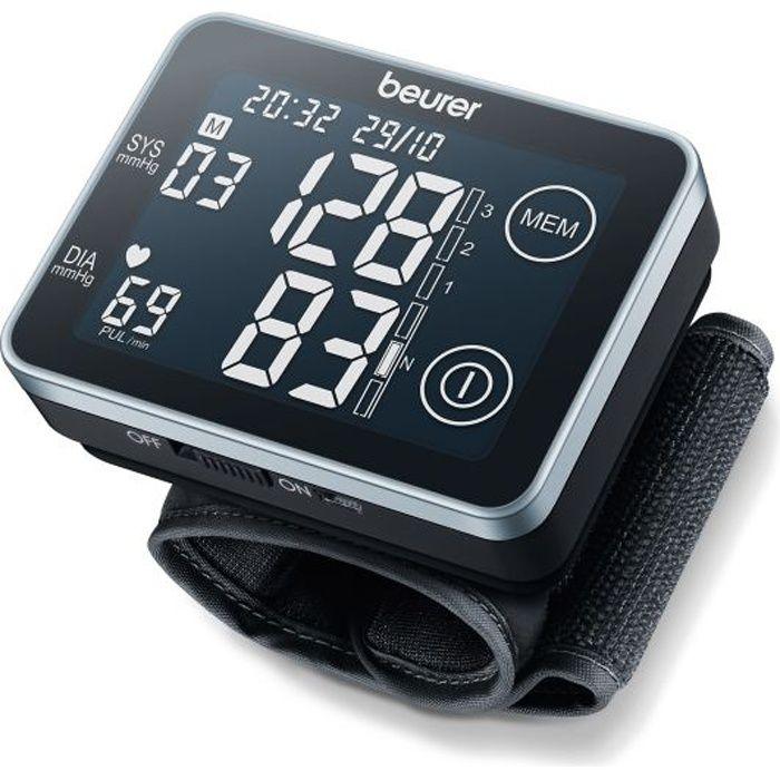 Tensiomètre - Mesure entièrement automatique au niveau du poignet - Affichage à écran tactile - Nouvelle classification OMS et détection des arythmiesTENSIOMETRE - ACCESSOIRES