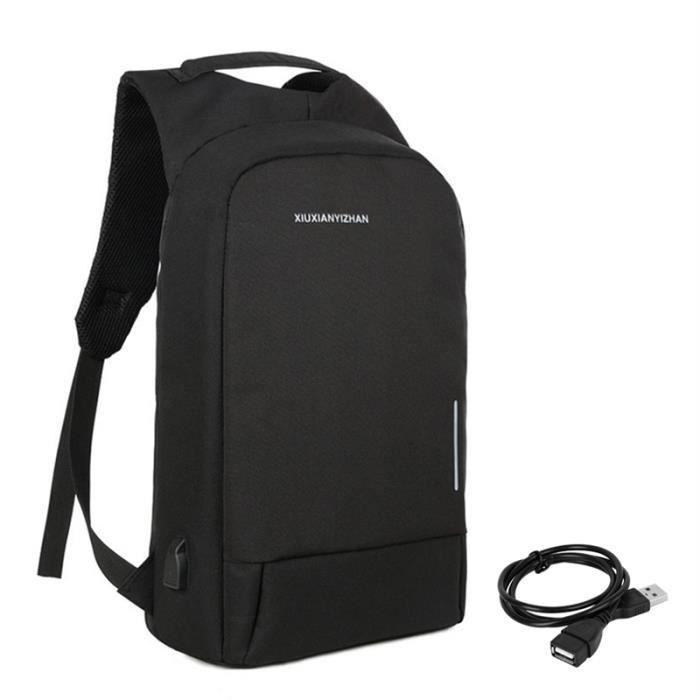 Sac à dos pour ordinateur portable noir